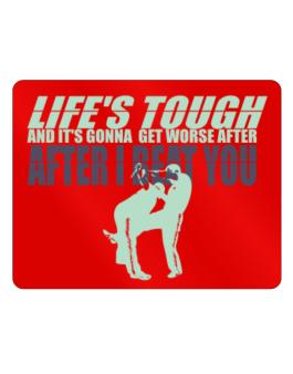 """  LIFE TOUGH Krav Maga "" Parking Sign - Horizontal"