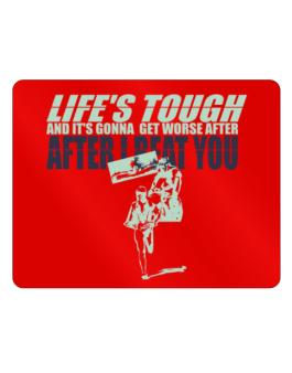 Life Tough Triathlon Parking Sign - Horizontal