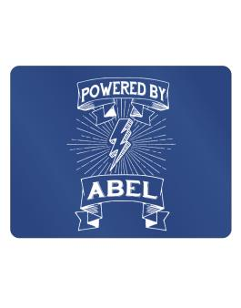Powered by Abel Parking Sign - Horizontal