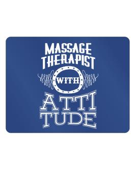 Massage Therapist with attitude Parking Sign - Horizontal