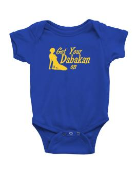 Get Your Dabakan On - Silhouette Baby Bodysuit