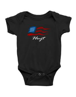 Hoyt - Us Flag Baby Bodysuit