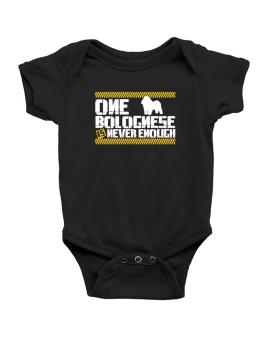 One Bolognese Is Never Enough ! Baby Bodysuit