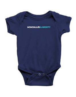 Acacallis Almighty Baby Bodysuit