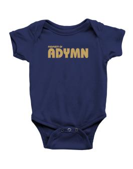 Property Of Adymn Baby Bodysuit