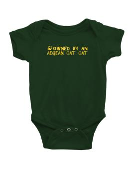 Owned By An Aegean Cat Baby Bodysuit
