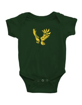 Eagle With Open Wings Baby Bodysuit