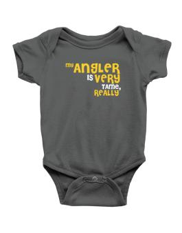 My Angler Is Very Tame, Really Baby Bodysuit