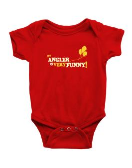 My Angler Is Very Funny Baby Bodysuit