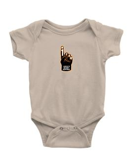 """ Adeles secret admirer "" Baby Bodysuit"