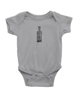 Drinking Too Much Water Is Harmful. Drink Vodka Gimlet Baby Bodysuit