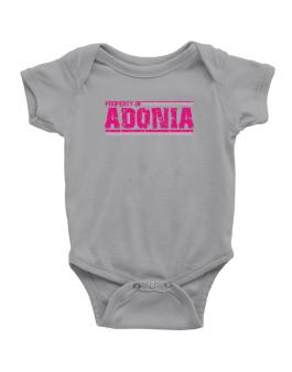 Property Of Adonia - Vintage Baby Bodysuit