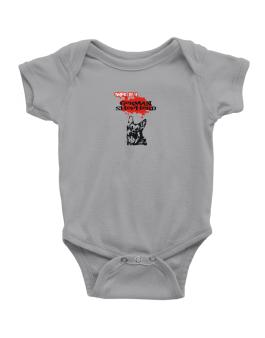 Owned By A German Shepherd Baby Bodysuit