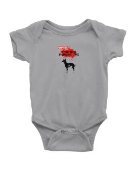 Owned By A Peruvian Hairless Dog Baby Bodysuit