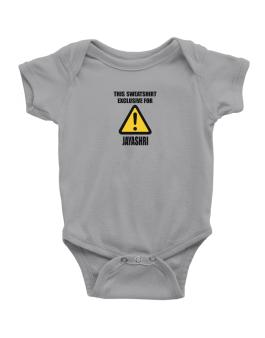 This Sweatshirt Is Exclusive For Jayashri Baby Bodysuit