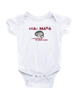 Krav Maga Is An Extension Of My Creative Mind Baby Bodysuit