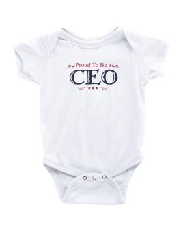 Proud To Be A Ceo Baby Bodysuit
