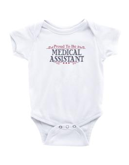Proud To Be A Medical Assistant Baby Bodysuit