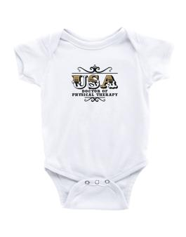 Usa Doctor Of Physical Therapy Baby Bodysuit