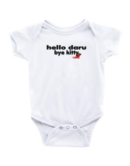 Hello Daru Bye Kitty Baby Bodysuit