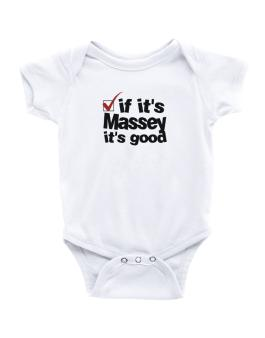 If Its Massey Its Good Baby Bodysuit