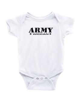 Army Wiccan Baby Bodysuit