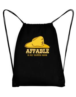 Affable Is My Middle Name Sport Bag
