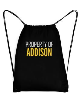 Property Of Addison Sport Bag