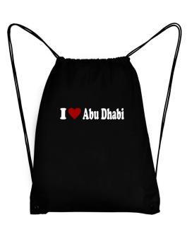 I Love Abu Dhabi Sport Bag