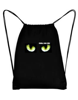 Maine Coon Lady Sport Bag
