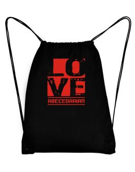 Love Abecedarian Sport Bag