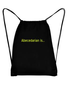 Abecedarian Is Sport Bag