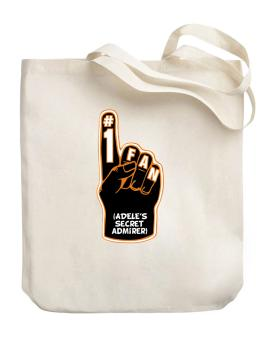 """ Adeles secret admirer "" Canvas Tote Bag"