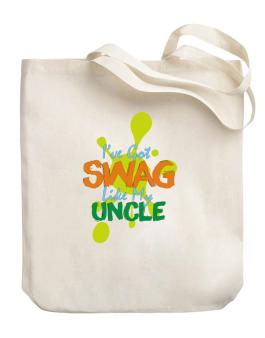 Ive got swag like my uncle Canvas Tote Bag