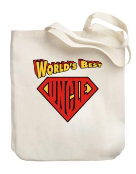Worlds Best Uncle Canvas Tote Bag