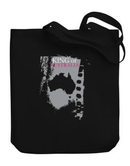 King Of Australia Canvas Tote Bag