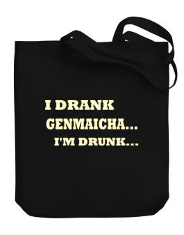 Officer: I Drank 4 Bottles Of Genmaicha ... That Doesnt Mean Im Drunk... Does It? Canvas Tote Bag