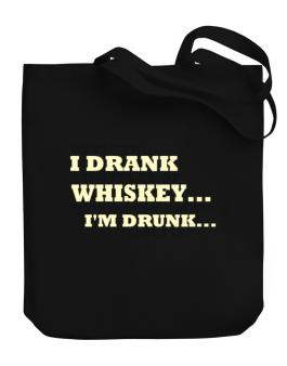 Officer: I Drank 4 Bottles Of Whiskey ... That Doesnt Mean Im Drunk... Does It? Canvas Tote Bag