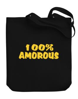 100% Amorous Canvas Tote Bag
