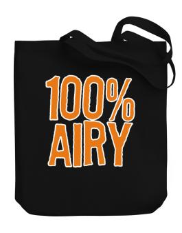 100% Airy Canvas Tote Bag