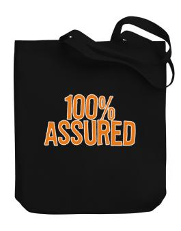 100% Assured Canvas Tote Bag
