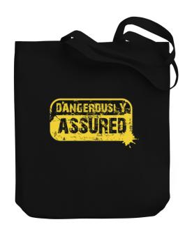 Dangerously Assured Canvas Tote Bag