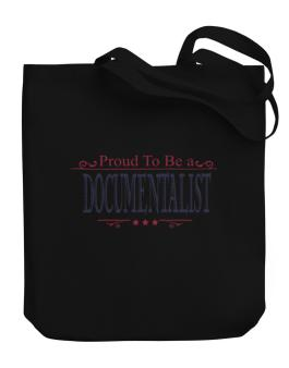 Proud To Be A Documentalist Canvas Tote Bag