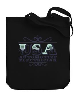 Usa Automotive Electrician Canvas Tote Bag