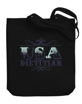 Usa Dietitian Canvas Tote Bag
