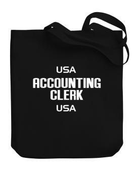 Usa Accounting Clerk Usa Canvas Tote Bag