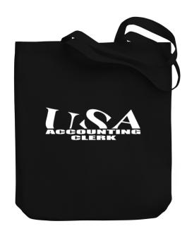 Usa Accounting Clerk Canvas Tote Bag