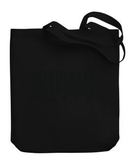 Bar Code Karim Canvas Tote Bag