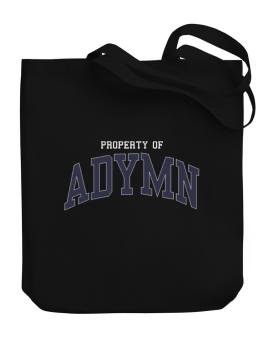 Property Of Adymn Canvas Tote Bag
