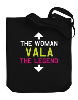 Vala - The Woman, The Legend Canvas Tote Bag